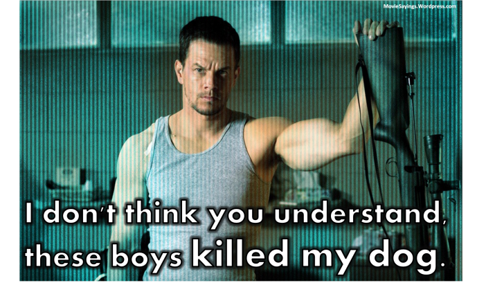 Bob Lee Swagger: I don't think you understand, these boys killed my dog.