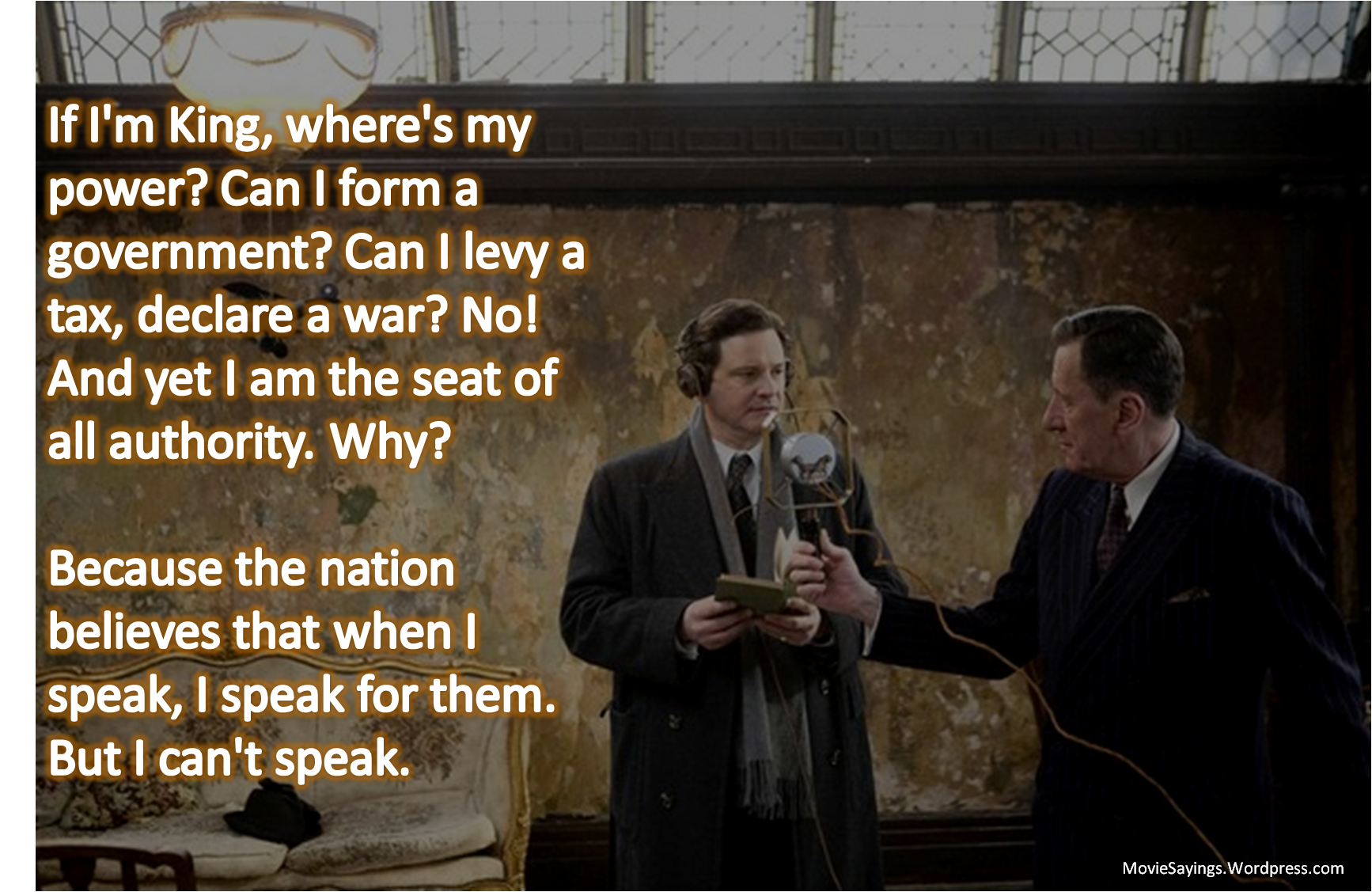 the kings speech essay Makes the king's speech a highly appropriate film to stimulate discussion activities in this guide exploring promotional materials around the film's release.