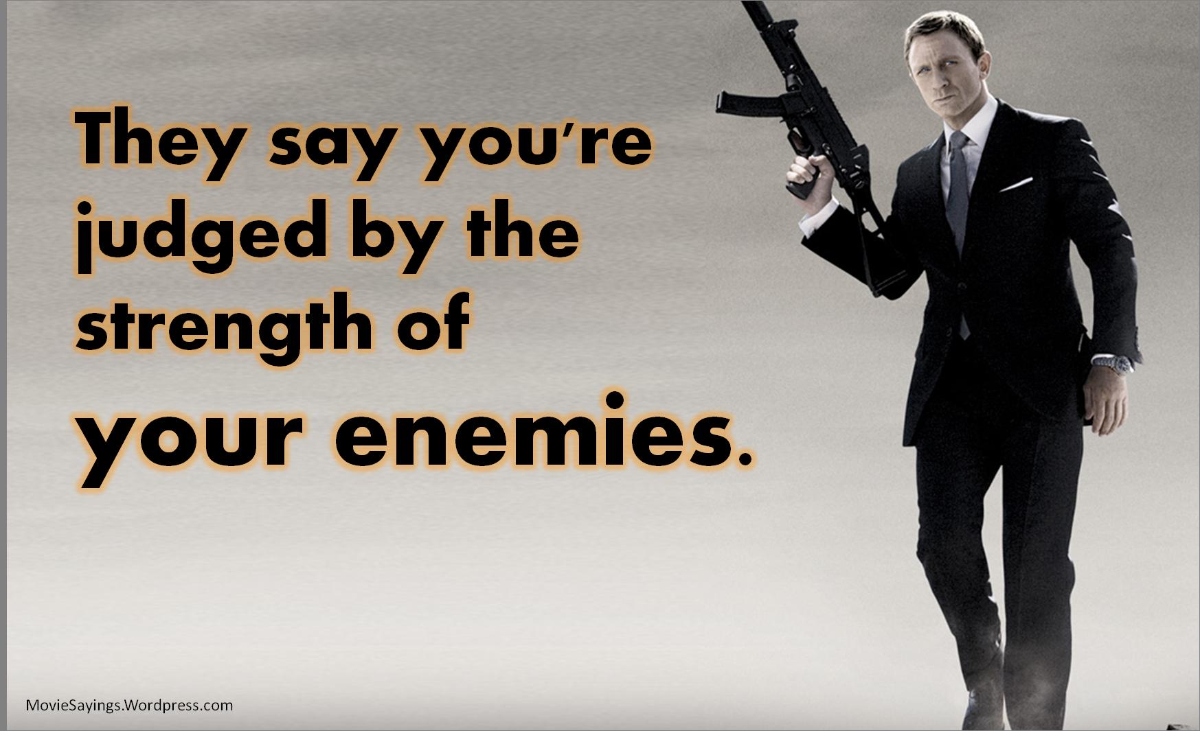 Bond Quotes Quantum Of Solace Quotes  Movie Sayings