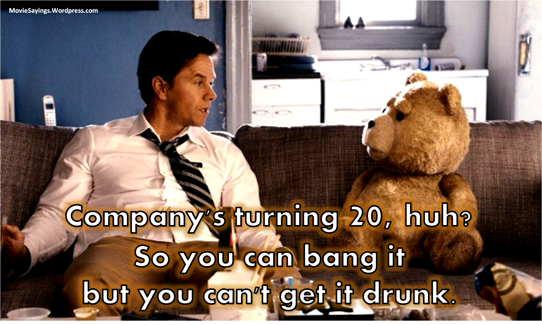 Best Ted Movie Quotes 2012 ~ ted 2012 movie quote | QuotesDump