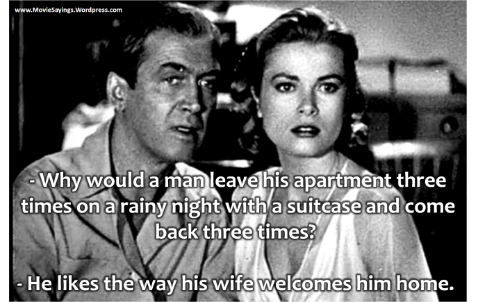 James Stewart ft Grace Kelly - Rear Window (1954)