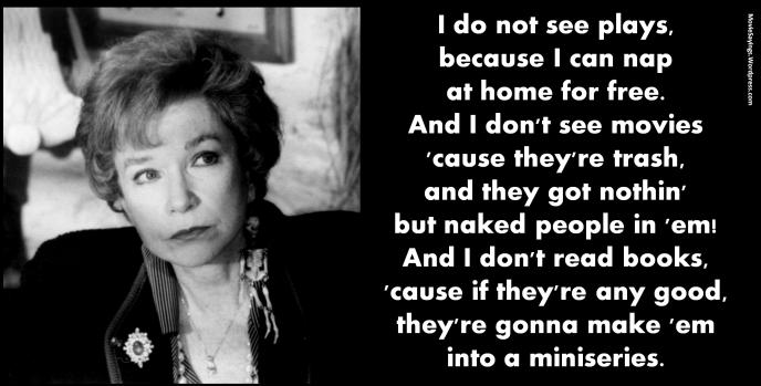 Shirley MacLaine - Steel Magnolias (1989)