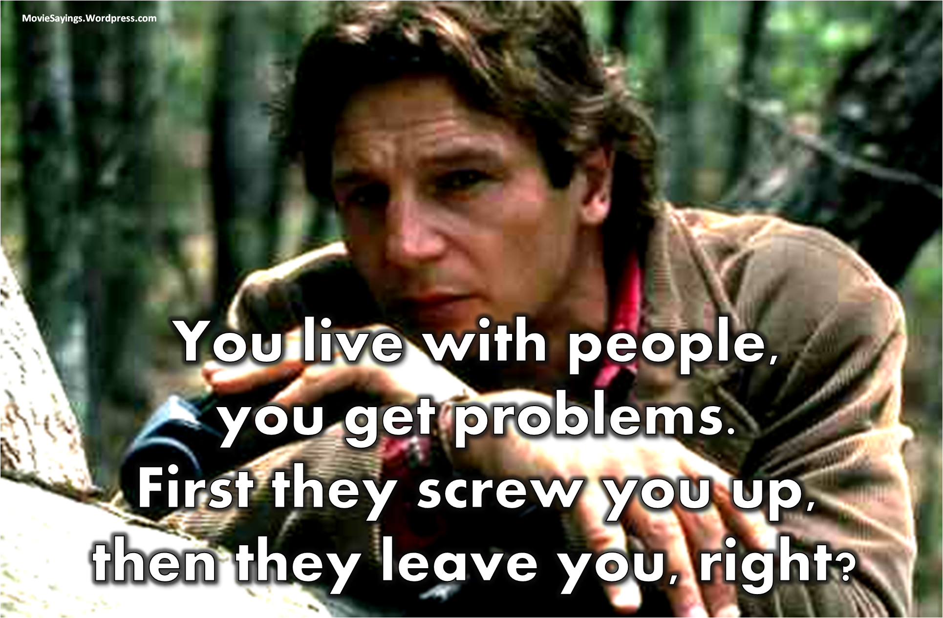 Liam Neeson quotes | Movie Sayings